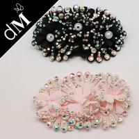 Buy cheap Fashion Sequin Bead Appliques Patches with Colorful Silk For Uniforms, Pants, Shorts from wholesalers