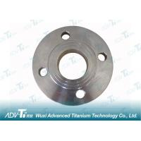 Buy cheap ASME / ANSI B 16.5 Titanium Pipe Fittings ASTM B381 Gr5 With FF Flange Surface from wholesalers