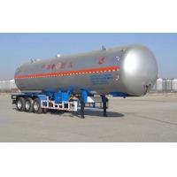Buy cheap 59.4CBM 3 Axle Semi Trailer / LNG Transport Trailers For Transport LPG from wholesalers