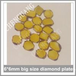 Buy cheap Round diamond plate,  Square shape diamond plates, Hexagon shape diamond plates from wholesalers