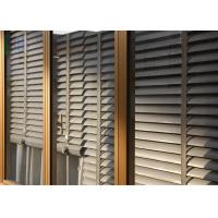 Buy cheap Powder Coating Glass Louvre Windows , Optional Color Exterior Window Shutters from wholesalers