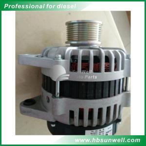 Buy cheap Genuine ISLE 24V 70A Diesel Generator Alternator JFZ2718 4946255 Steel Iron product