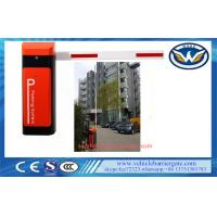 Buy cheap Telescopic Arm Auto Reverse car park barriers , parking barrier gate 8m Dual Spring from wholesalers