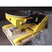 Buy cheap Small Hydraulic Fixed Welding Positioner 380V 50HZ 1000mm Table Diameter from wholesalers