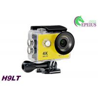 Buy cheap 12MP Sports 4k Ultra Hd Wifi Action Camera H9 Waterproof Sport Cam with Remote Control from wholesalers