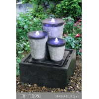 Buy cheap 3 Oval Small Decorative Water Fountains from wholesalers