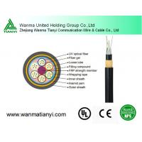 Buy cheap ADSS all dielectric unitube fiber optical flat cable / best fiber optical cable product