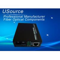 Buy cheap 1550nm Ethernet Fiber Media Converter Single Mode Simplex SC connector 40km from wholesalers