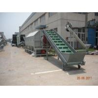 Buy cheap PET bottle baler breaker, labeling remover, dryer Line Waste Plastic Recycling Machine from wholesalers