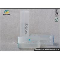 Buy cheap Stylishly Clear Plastic Folding Boxes , Disposable Plastic Retail Boxes ISO9001 from wholesalers