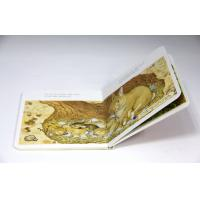 Buy cheap Lovely Kids Card Custom Board Book Printing With Glossy Lamination from wholesalers