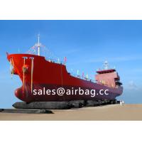 Buy cheap High strength Black shiplaunching airbag / lifting rubber marineairbags from wholesalers