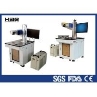 Buy cheap Hdpe Ldpe High Contrast Uv Co2 Laser Marking Machine Air Cooling Mode from wholesalers
