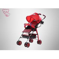 Buy cheap Qualitified Baby Pram Stroller ,  Ultralight Umbrella Stroller With Toys / Bar from wholesalers