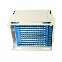 Buy cheap 144 core ODF unit box for Optical Fiber Distribution Frame from wholesalers