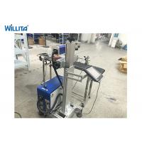 Buy cheap 50W Portable Mini Fiber Color Laser Marking Machine Long Life Low Power Consumption from wholesalers
