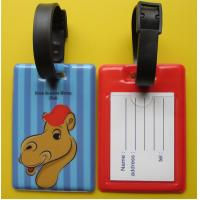 Buy cheap Standard Flexible PVC Luggage Tag, Luggage Tag, Plastic Travel Tag from wholesalers