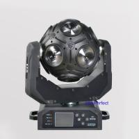 Buy cheap 2016 New 12pcs*10w CREE RGBWUV Football Led Moving Head Disco Ball Lights Dj Equitment dmx from wholesalers