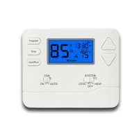 Buy cheap Household White 24V Digital Durable Room Thermostat 7 Day Programmable from wholesalers