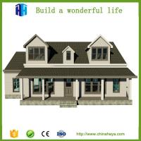 Buy cheap modern earthquake safety prefabricated homes luxury prefab steel villa from wholesalers