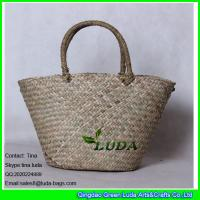 Buy cheap LDSC-030 2016 classical handmade natural seagrass straw basket bag from wholesalers