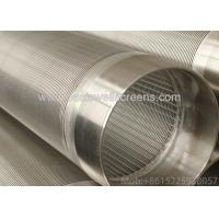 Buy cheap 304 material of Well Screen Slot 05mm  Pipe well screens for well drilling from wholesalers