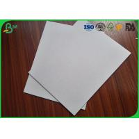 Buy cheap Rigid / Strong  Grey Cardboard Paper , High Stiffness 350Gsm Grey Board Sheets product