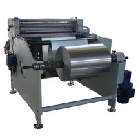 Buy cheap Full Automatic Aluminum foil roll to sheet paper cutting machine from wholesalers