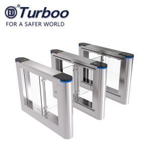 Buy cheap AC110-240V Swing Gate Biometric Fingerprint Scanner Swing Barrier Gate from wholesalers