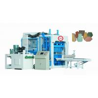 Buy cheap Fully Automatic Concrete Block Making Machine For Cement / Sand / Rivel Sand Materials from wholesalers