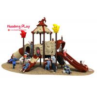 Quality Magic House Series Slide Play Equipment Small Size Fashion Cute Design High Reliability for sale