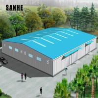 Buy cheap prefab house prefabricated steel structure warehouse building/steel workshop from wholesalers