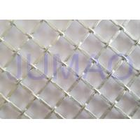 Quality 1/2 Inch Opening Decorative Wire Screen , Galvanized Steel Cabinet Mesh Grilles for sale