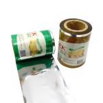 Buy cheap Food Grade Aluminum Foil Packaging Film Roll Laminated Gravure Printing from wholesalers