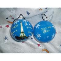 Buy cheap Hand made Christmas Glass Ball Ornaments from wholesalers