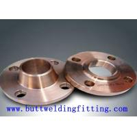 Quality 150# ANSI B16.5 Monel400 Inconel600 WN DN10 PN16 Weld Neck Flange 12 Inch For Shipbuilding for sale