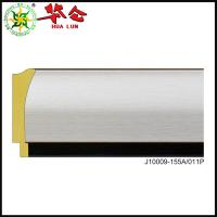 Buy cheap J10009 series Hualun Guanse Colorful plastic polystyrene picture photo frame molding PS moulding from wholesalers