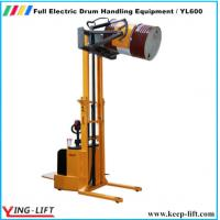 Buy cheap Full Electric Drum Handling Equipment/ Drum Handler YL600 from wholesalers