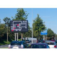 Buy cheap Wireless Dynamic Message Signs , Digital Highway Message Boards Ekran from wholesalers