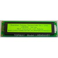 Buy cheap 40*4 Character LCD display product