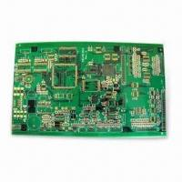 Buy cheap 4-layer HAL PCB with Yellow Solder Mask, Used in Electronic Appliance Board from wholesalers