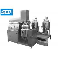 Buy cheap Cosmetic Ointment Manufacturing Machine For Cream & Shampoo Production from wholesalers