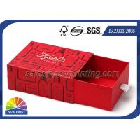 Buy cheap Customized Rigid Paper Drawer Box for Hair Treatments / Body Soap / Lip Balm Kit from wholesalers