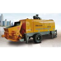Buy cheap 80m3 per hour diesel engineportable hydraulic trailer concrete pump from wholesalers
