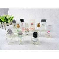 Buy cheap Various Type Bathroom Hotel Shampoo Bottle With Snap Or Screw Cap from wholesalers
