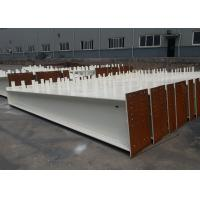 Buy cheap 6 To 12m Length Structural Steel H Beam , Universal Steel Support Beam from wholesalers
