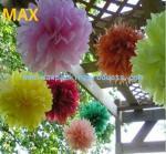 Buy cheap Tissue paper pom poms /flower balls from wholesalers