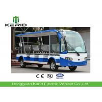 Buy cheap 14 Seats Electric Sightseeing Car , Electric Tour Bus With Radio And MP3 Player from wholesalers