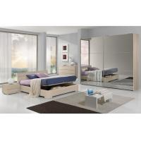 Buy cheap Full Mirror Sliding Wardrobe Free Standing Bedroom Furniture King Size For 5 Star Hotels from wholesalers