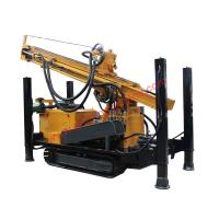 Buy cheap Multi Functional Water Well Drilling Rig , Well Water Drilling Equipment 300 Meters Depth from wholesalers